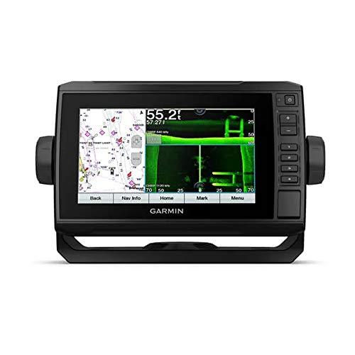 "Price comparison product image Garmin ECHOMAP UHD 74SV,  7"" Keyed-Assist Touchscreen Chartplotter with U.S. BlueChart G3 and GT54UHD-TM Transducer"