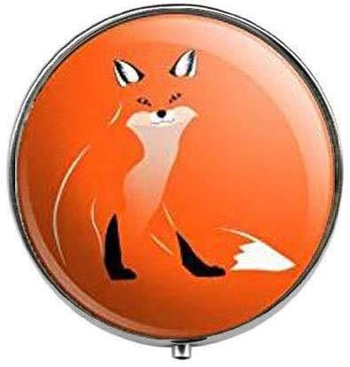 Red Foxy Fox - Pastillero para fotos artísticas, caja de cristal