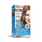 Revlon Total Color Coloration Permanente Clean & Vegan N°63 Châtain Clair Doré 1 Unité