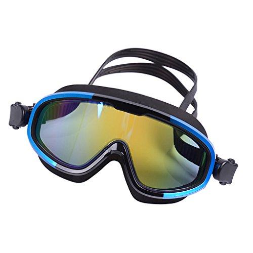 Sharplace Occhialini da Nuoto Impermeabili Antiappannamento Protezione UV Impermeabile Senza Perdite di Occhiali Polarizzati - Blu
