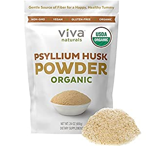 Perfect For Baking Keto Bread & More – Add a teaspoon of psyllium powder to your favorite juice, shake, smoothie, or use it for your keto baking needs–gluten-free keto bread, pizza dough, or cookies. It's the perfect organic fiber supplement powder f...