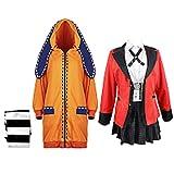 Anime Kakegurui Cosplay Costume Yomoduki Runa École Uniforme Cosplay pour Fête Halloween...