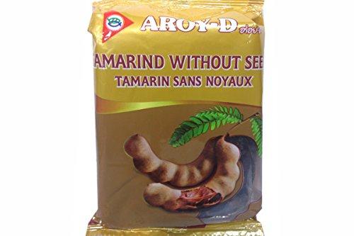 Aroy-D - Pulpe de tamarin (sans pépins) Idéal pour assaisonner les meilleurs plats.