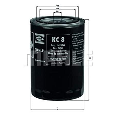 Mahle Knecht Kc 109 Kraftstofffilter Auto