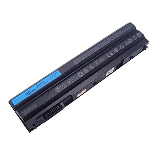 Huiyuan 11.1V 60Wh Korea Cell Laptop Battery Compatible with Dell Latitude E6420 E6430 E6520 E6530 E5420 E5430 E5520 E5530 N3X1D T54FJ Notebook