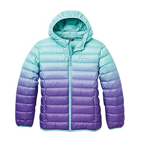 Eddie Bauer Kids Down Jacket - Hooded, Down Outerwear | Purple, Medium
