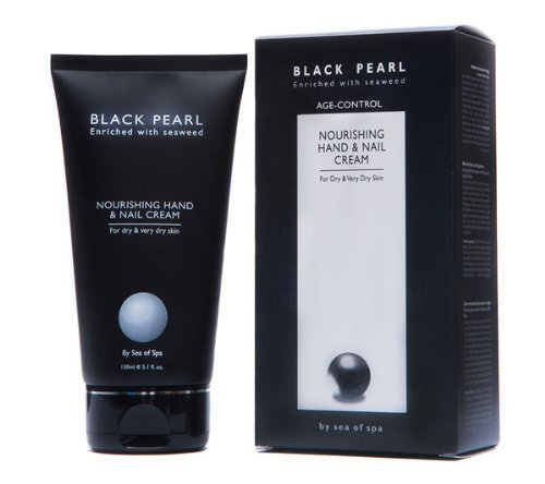 Sea of Spa Black Pearl - Nourishing Hand and Nail Cream, 5.1-Ounce by Sea of Spa