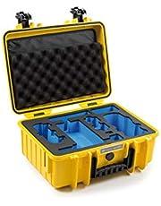 B&W transportkoffer outdoor voor drone DJI Mavic Air 2, DJI Air 2S of More Combo versies en Smart Controller Type 4000 geel - waterdicht conform IP67-certificering