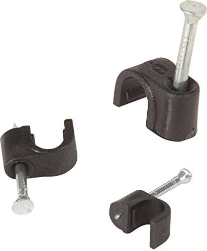 Kabel Clips Für Cat 5–5mm schwarz Farbe