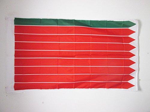 AZ FLAG Bandera de la Provincia DE Zamora 90x60cm para Palo - Bandera Zamora ENCastilla Y LEÓN 60 x 90 cm