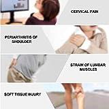 Unidad TENS de 8 modos, recargable, inteligente TENS, masajeador de espalda con pantalla LCD de 15 niveles para aliviar el dolor de cuello