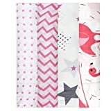 Mom's Home Organic Cotton Super Soft Baby Muslin Cloth Swaddle - 0-12 Months