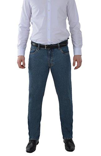 Marken Outlet Kriftel -  Jeans - Straight - Uomo Classico Blu 38W x 36L