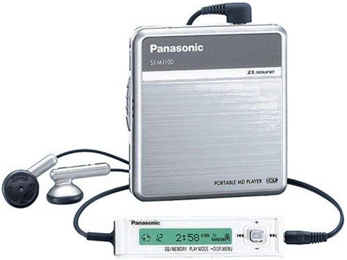 Panasonic D‐SOUND ポータブルMDプレーヤー シルバー SJ-MJ100-S