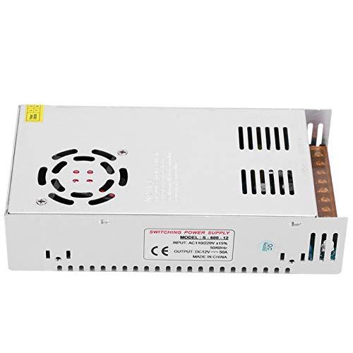 Generador de pulsos de alto voltaje de 60KV Voltaje de entrada DC 6V a 12V 1A-2A Módulo de bobina de encendido Super Arc(S-600-12(12V/50A/600W)AC110/220V)
