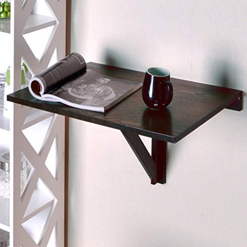 VWsiouev - Mesa plegable para montar en la pared, mesa flotante para ahorrar espacio, 60 x 40 x 32 cm