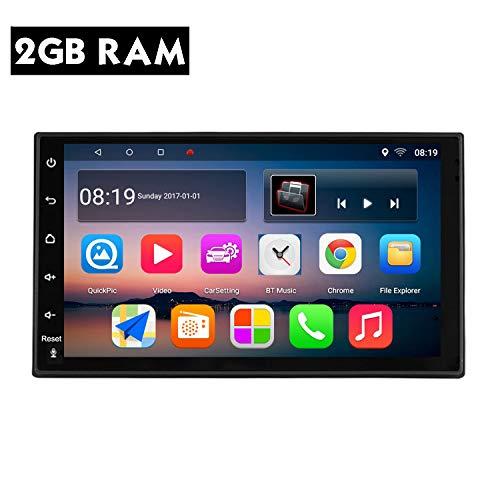 KKXXX S10 Plus Android 9.0 Navigazione GPS Autoradio AM FM RDS 2GB RAM 32GB ROM Lettore Audio Video per Auto Controllo del Volante Chiamata in Vivavoce 7 Pollici Touchscreen capacitivo