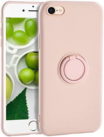 iPhone 6s Plus Case for Girls Yoopake iPhone 6 Plus Case Liquid Silicone Case with Stand Ring product image