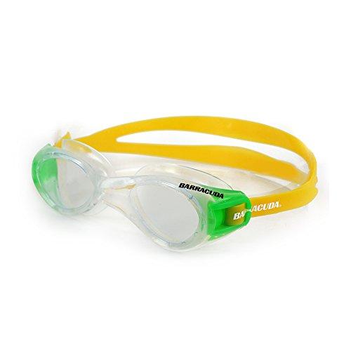 Barracuda Titanium – Schwimmbrille für Damen und Herren mit 100% UV-Schutz, Anti-Beschlag-Beschichtung, wasserdicht, aus hautverträglichem Kunststoff inklusive KOSTENLOSEM Etui #16420 (Yellow)