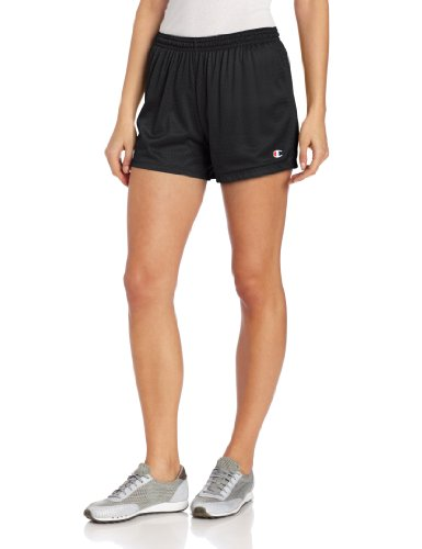 Champion Women's Mesh Short, Black, Medium