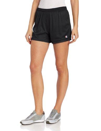 Champion Women's Mesh Short, Black, XX-Large