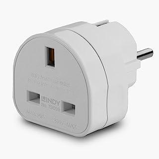 LINDY UK to Euro Adapter Travel Plug
