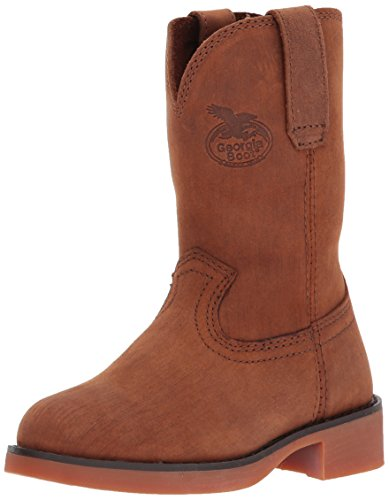 Georgia Boot Baby G099 Mid Calf Boot, Brown, 8.5 M US Toddler