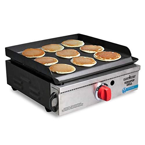Camp Chef Versatop Portable Flat Top Grill 250 and Griddle (FTG250) - Compatible 14