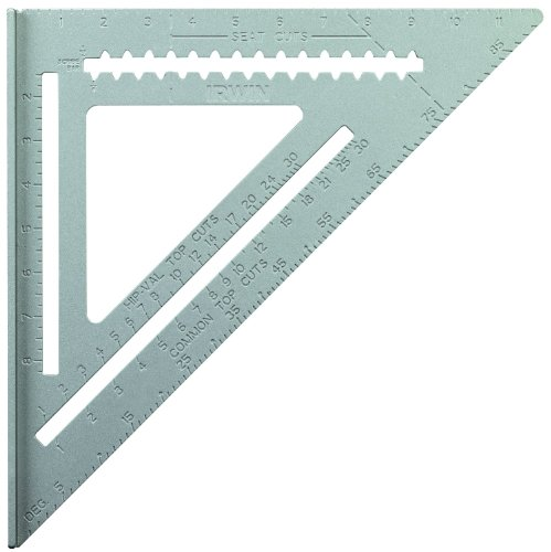 IRWIN Tools Rafter Square, Aluminum, 12-Inch (1794465)