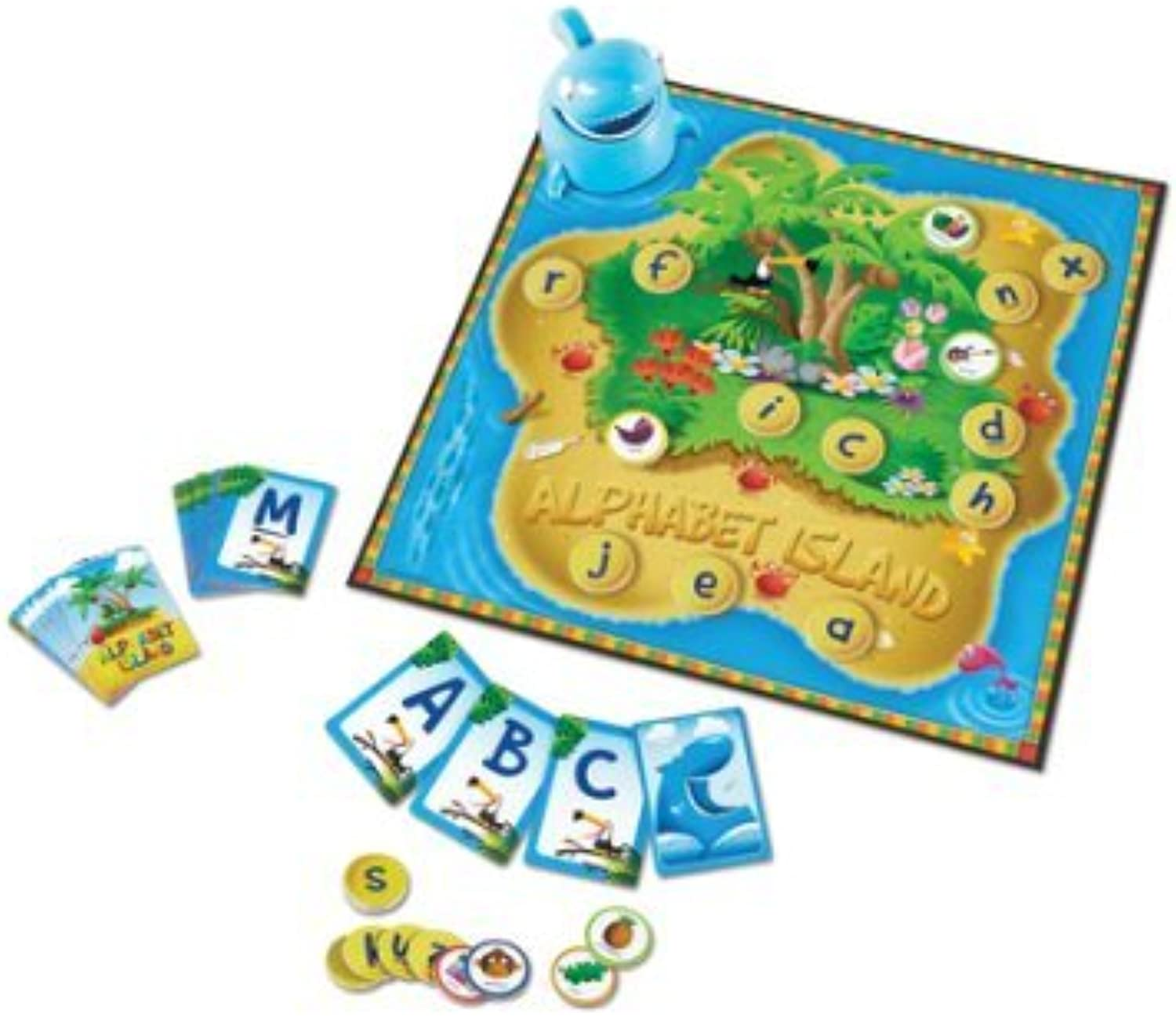 LearningLAB Alphabet Island, Letters & Sounds Game