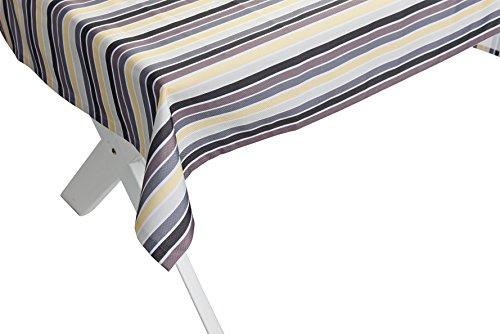 Haga-Wohnideen.de Outdoor tafelkleed antiek geel-grijs tuintafelkleed tuintafel tafel kleed afwasbaar 140cmx240cm