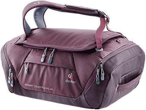 deuter Unisex Adult Aviant Duffel Pro 40 2020 Model Luggage Garment Bag, maron-aubergine, Liters EU