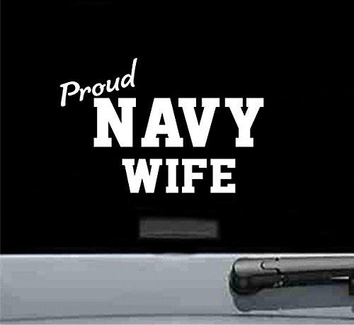 Calcomanía de vinilo con diseño de mujer de la marina