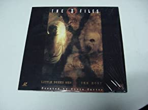 Laserdisc The X Files with 2 Uncut Episodes Little Green Men & The Host, By Chris Carter. David Duchovny & Gillian Anderson.