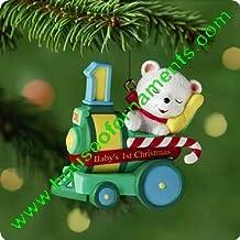 BABY'S FIRST CHRISTMAS - TEDDY BEAR - HALLMARK ORNAMENT