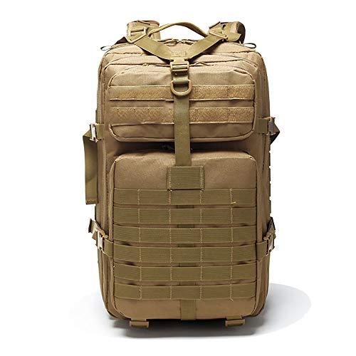 Assault Pack Deporte Hombre, Mochila de Asalto táctico, Mochila Táctica,Mochila Caminar Hombre Mochila Militar Asalto Molle para Deportes al Aire Libre Camping Caza Montañismo Viaje