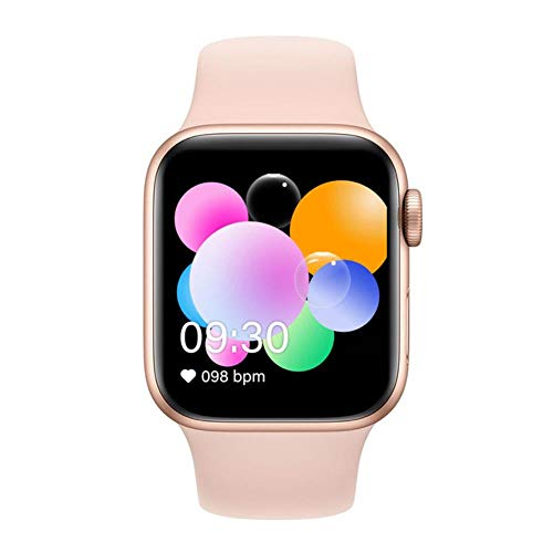 xmwm 2020 IWO 13 Series 5 T900 Smart Watch Bluetooth Call Music Player 44MM per iOS Android Frequenza cardiaca del Telefono PK IWO 8 IWO 12 IWO 10, Rosa