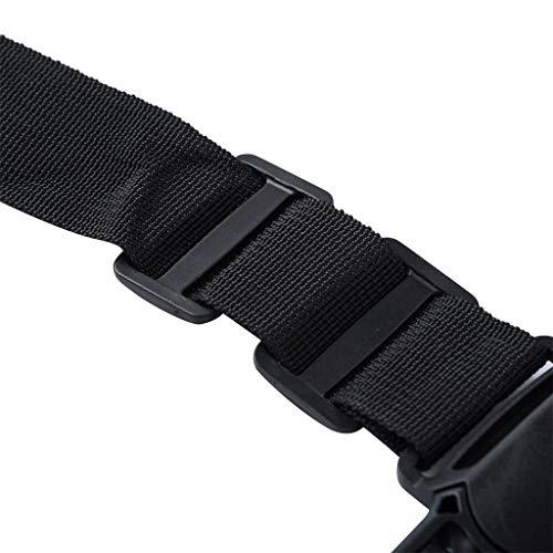 Ivo Ryan - Cintura di Sicurezza Universale a 5 Punti, per seggiolone o Carrozzina, Protezione Rotante, Tracolla Regolabile, Cintura a Croce per Passeggino, Accessori per Passeggino