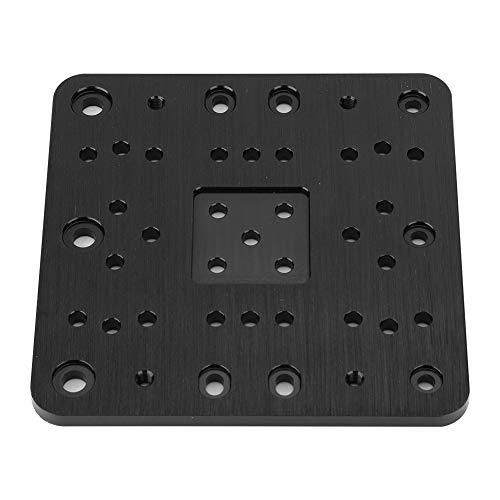 Piastra di montaggio in alluminio anodizzato, piastra di costruzione CNC per stampante 3D, scheda di montaggio, piastra a cavalletto C-Bl-Xlarge per Openbuilds CNC e miglioramento della stampante 3D