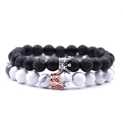 Bracelet Couple Damen Herren Kinder - Tigerauge
