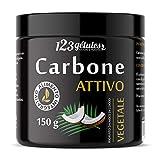 Carbone Attivo Vegtale Ricavato da noce di cocco polvere 150g