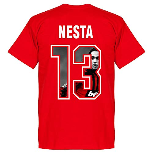 AC Mailand Nesta 13 Gallery Team T-Shirt - rot - XL