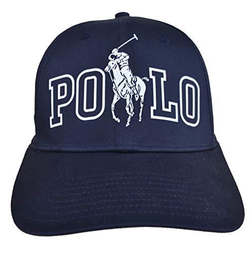 Ralph Lauren Baseline - Gorra de béisbol, color azul oscuro, talla única