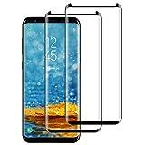 DASFOND Cristal Templado Samsung Galaxy S8 Plus Protector de Pantalla Samsung...
