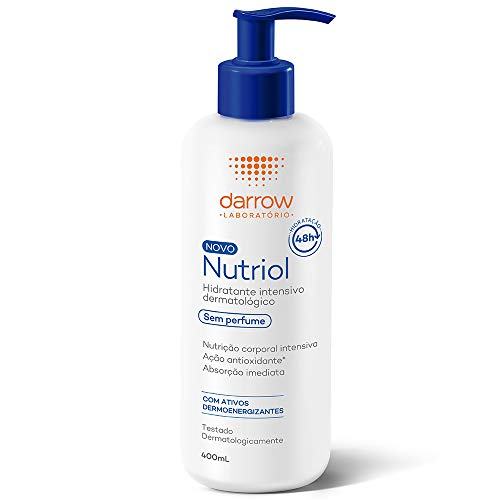 Nutriol Hidratante Intensivo Dermatológico, sem perfume, Darrow - 400ml, Darrow, 400ml