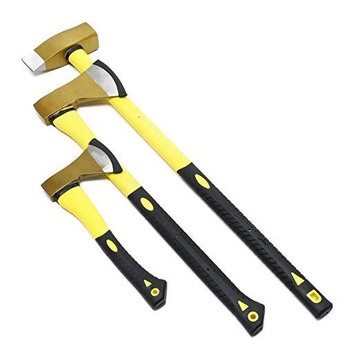 Axt Set 3tlg. Spaltbeil Spaltaxt und Spalthammer, geringes Gewicht und rutschfester Griff
