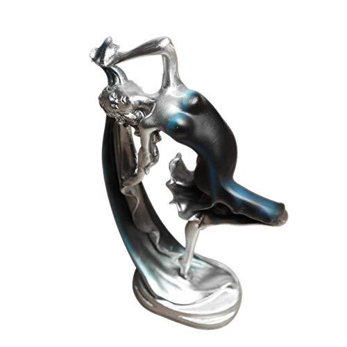 TZSHUQ Ballerina meisje dans hars standbeeld elegante figuur ambacht creatieve home desktop decoratie dans meisje ornamenten