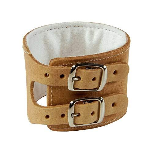 Holthaus Medical YPSIMED Handgelenkriemen Stütze Handgelenk Bandage, Leder, 2-schnallig, Gr 22