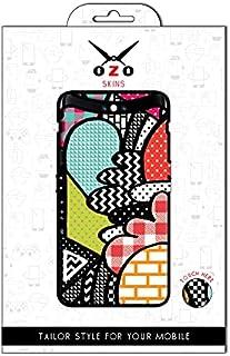 لاصقة حماية من اوزو بشكل بالرسومات الملونة لموبايلVivo Y20s
