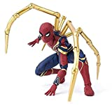 TOYSSKYR Iron Spider-Man Avengers Infinite War Action Modelo de Juguete ( Color : Red , Size : 14*16...
